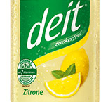 Deit zuckerfreie Limonade erfrischt deutschlandweit bei urbanen Lauf-Events