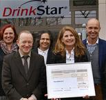 """DrinkStar fördert Verein """"Pro Arbeit"""" Rosenheim"""