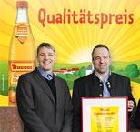 FRUCADE Qualitätspreis 2017 geht an die Brauerei Riemhofer