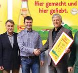 Getränkevertrieb Lemberger erhält Frucade- Qualitätspreis