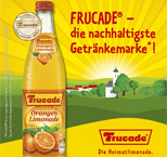 FRUCADE ist die nachhaltigste Getränkemarke Deutschlands